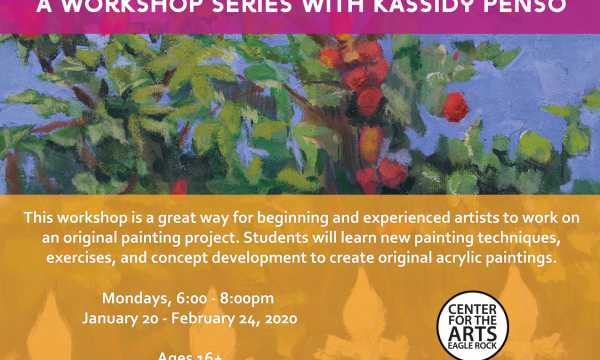 Adult Painting Studio with Kassidy Penso
