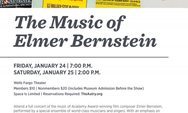 The Music of Elmer Bernstein