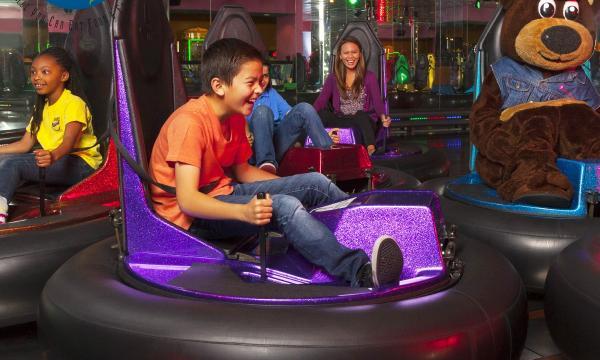 John's Incredible Pizza Family Fun Center Bumper Cars