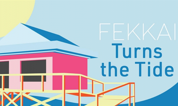 FEKKAI Takes Over the Santa Monica Pier