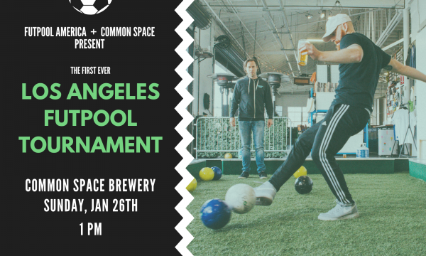 Futpool Tournament at Common Space Brewery