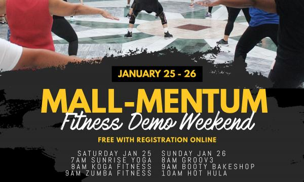 Mall-Mentum Fitness Demo Weekend