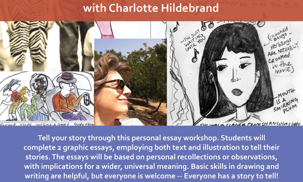 Personal Essay Workshop: Telling your story in words and pictures with Charlotte Hildebrand