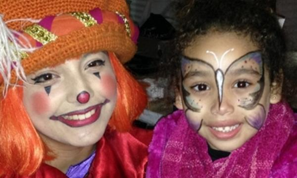 Enchanted Fairytale face-painting for kids and their grown-ups