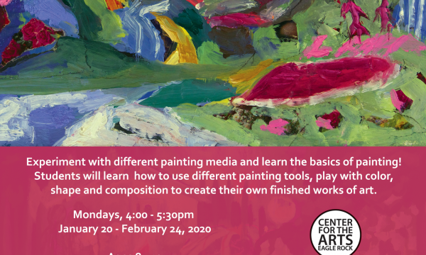 Youth Painting Studio with Kassidy Penso