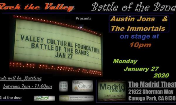 ROCK THE VALLEY - BATTLE OF THE BANDS