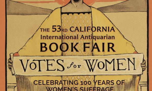 Votes for Women exhibit at the Book Fair brings the voices and faces of the women's suffrage movement into focus.