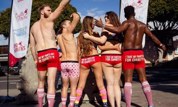 A PARTY & FUN RUN IN YOUR UNDIES, ALL FOR CHARITY