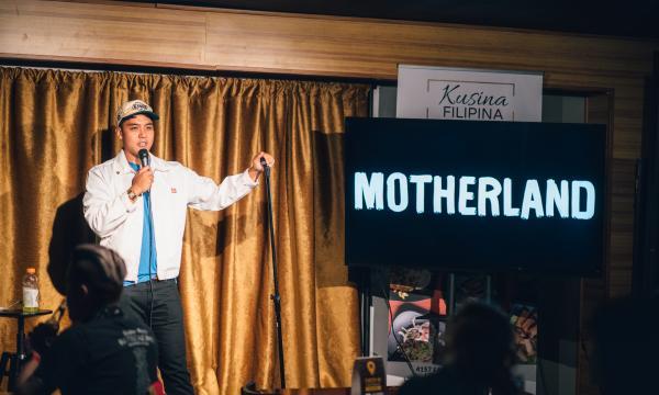 CJ Toledano at Motheland Comedy
