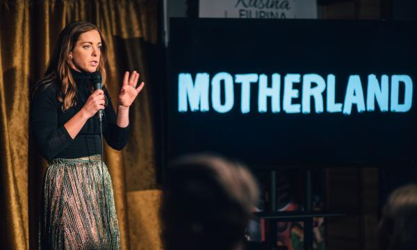Megan Gailey at Motheland Comedy