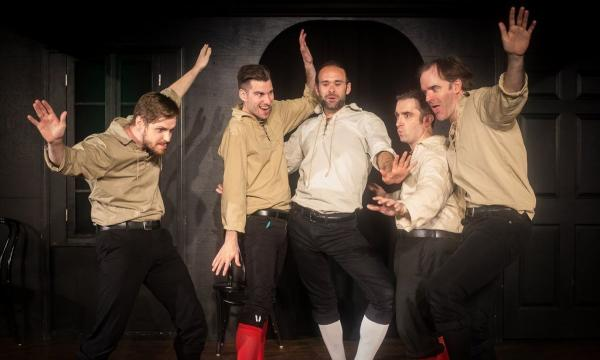 Main image for event titled THE IMPROVISED SHAKESPEARE COMPANY