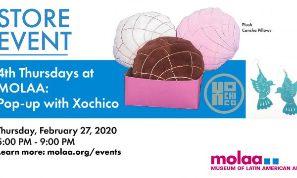 Store Event: Pop-up with Xochico