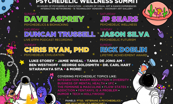 Meet Delic is a psychedelic wellness summit in Los Angeles, May 2-3, 2020—with leading minds in wellness education and psychedelic sciences at Wisdome