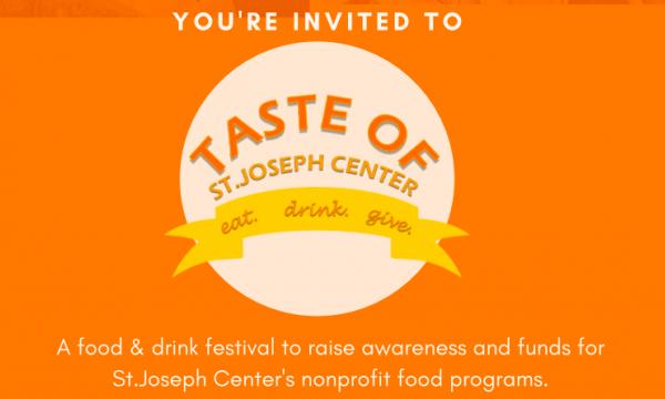 Main image for event titled Taste of St.Joseph Center