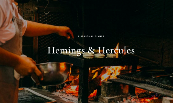 Main image for event titled Hemings & Hercules