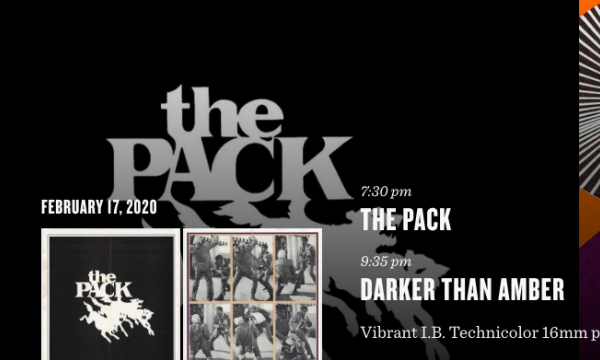 Main image for event titled THE PACK