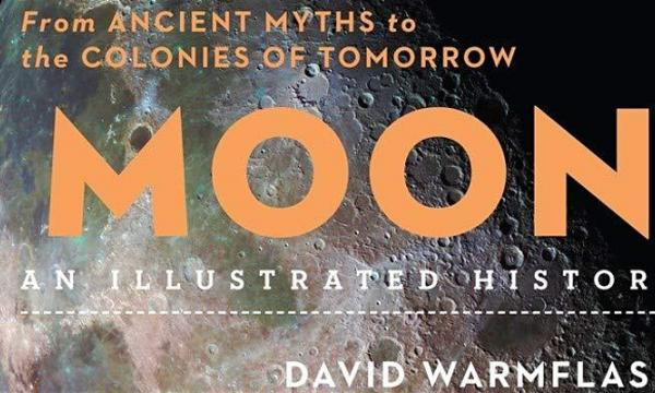 Main image for event titled Moon: An Illustrated History with Dr. David Warmflash
