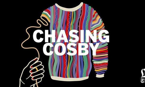 Chasing Cosby Podcast Logo