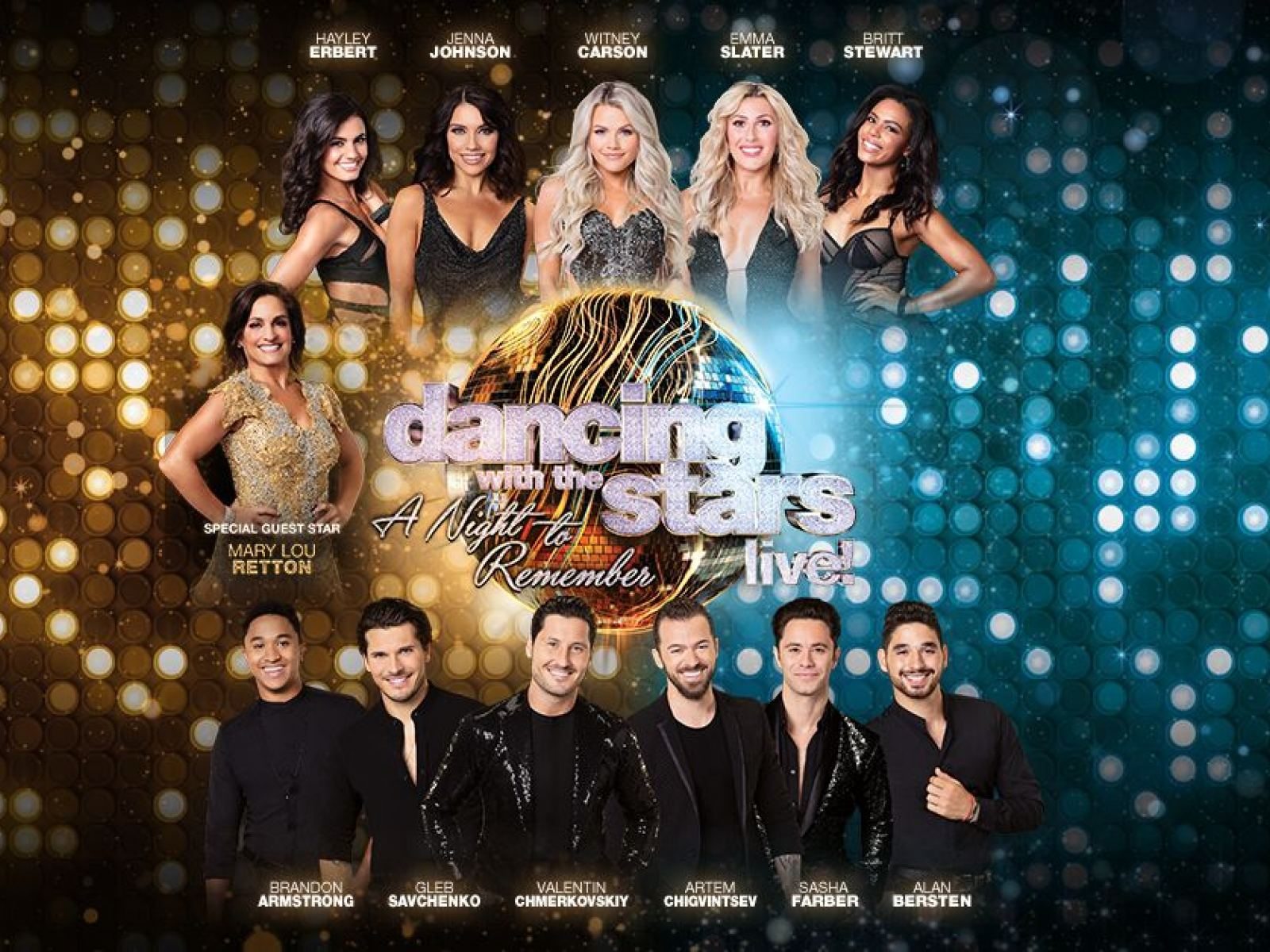 Main image for event titled Dancing With the Stars: LIVE!