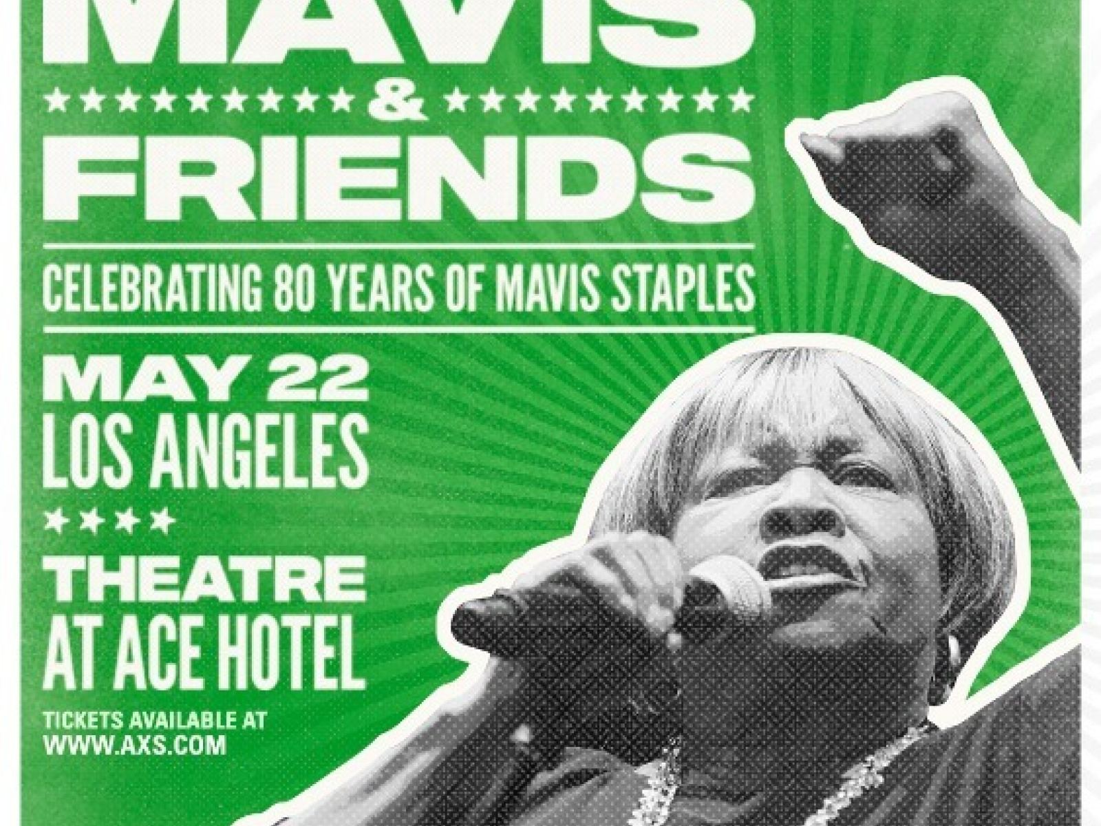 Main image for event titled MAVIS & FRIENDS: Celebrating 80 Years of Mavis Staples