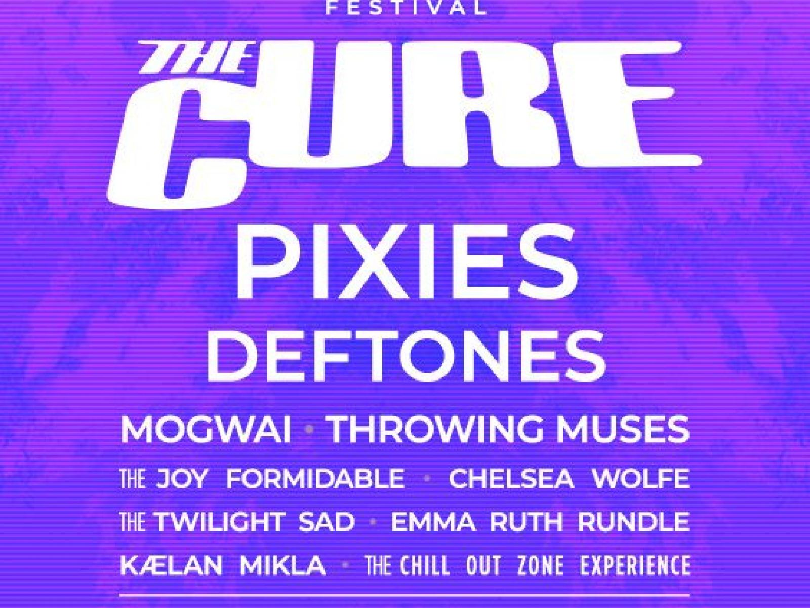 Main image for event titled Pasadena Daydream Festival feat. The Cure, Pixies and more