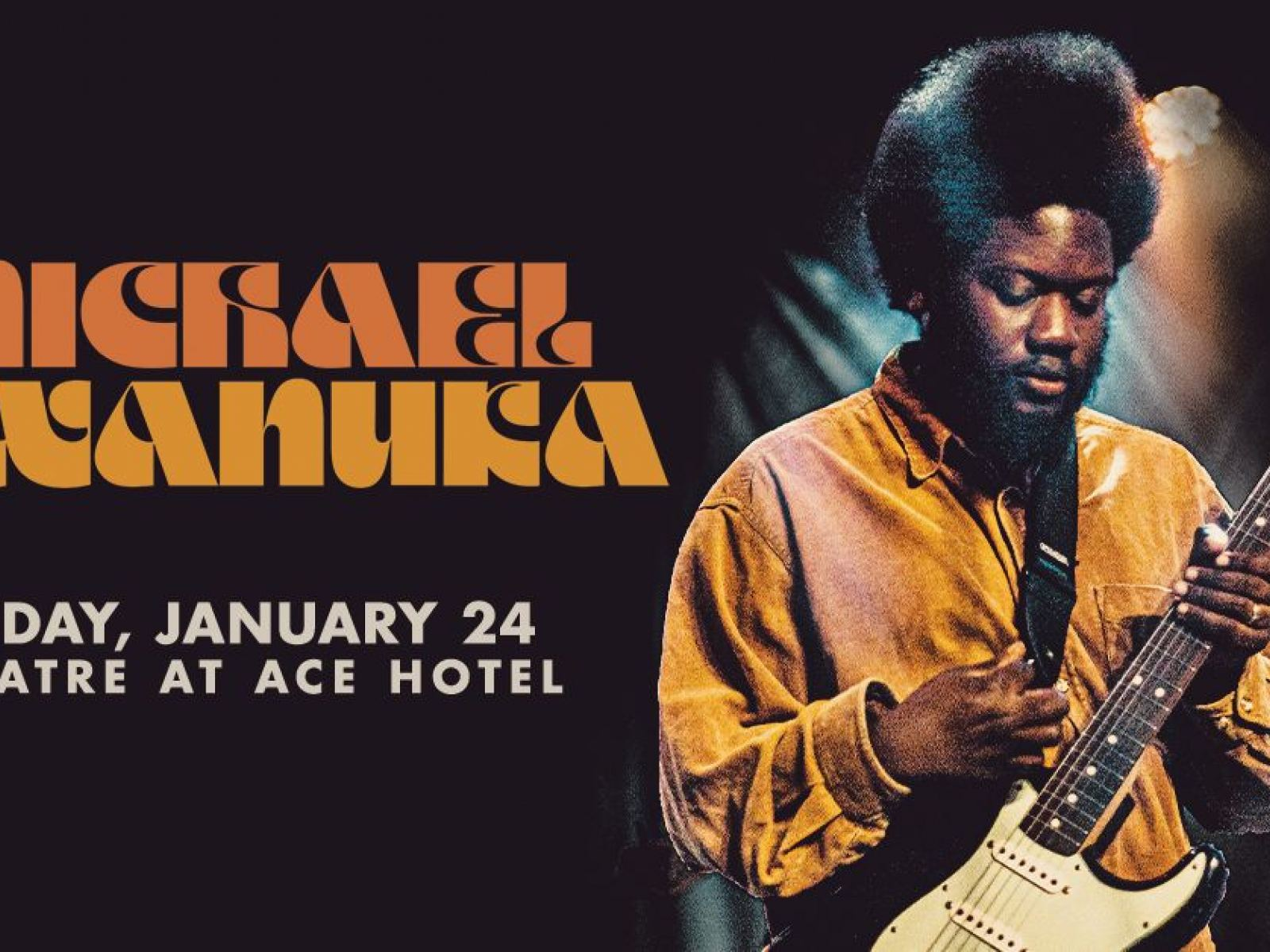 Main image for event titled Michael Kiwanuka