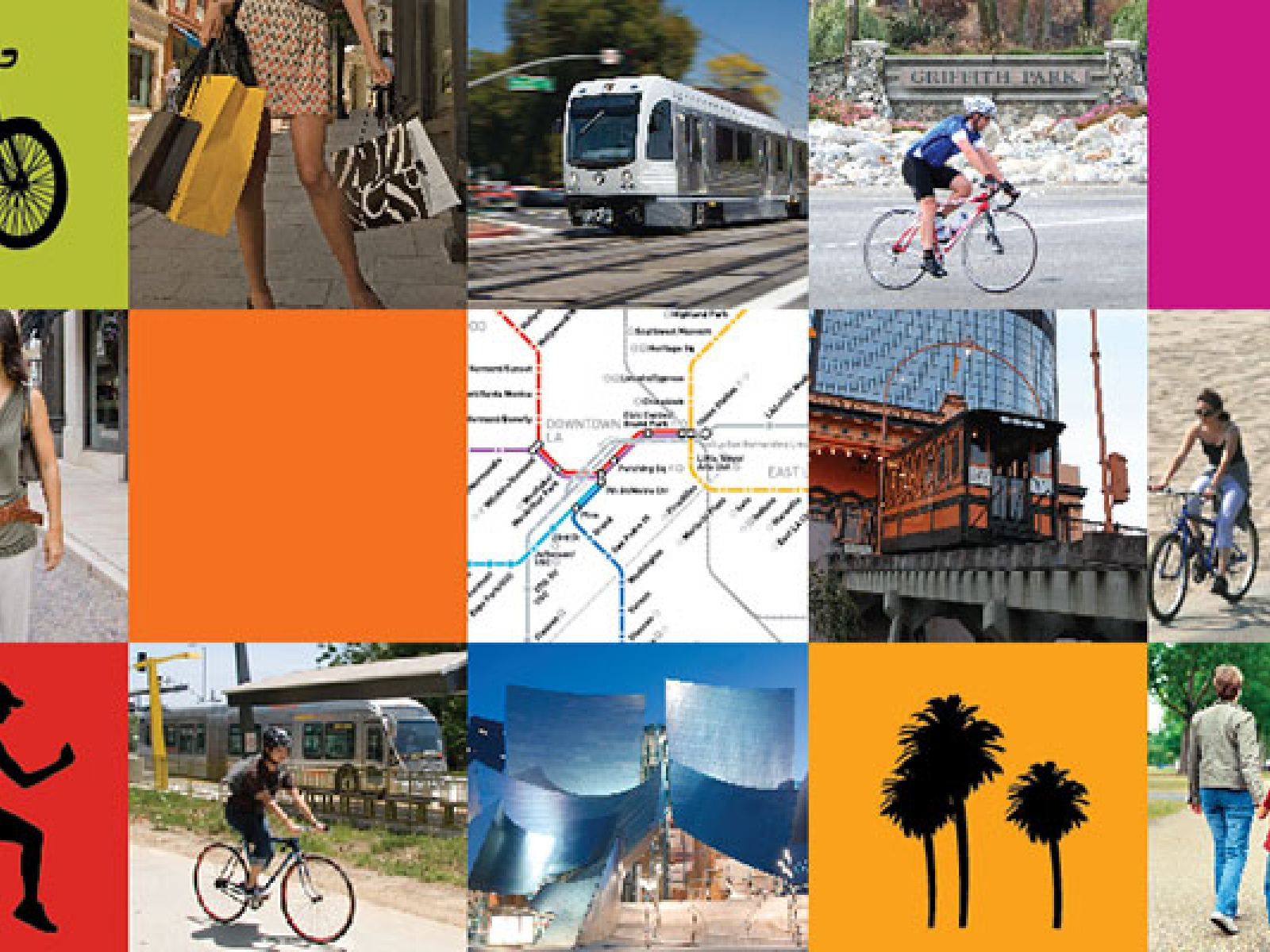 """Main image for article titled Los Angeles Tourism Launches """"Car Free LA"""""""