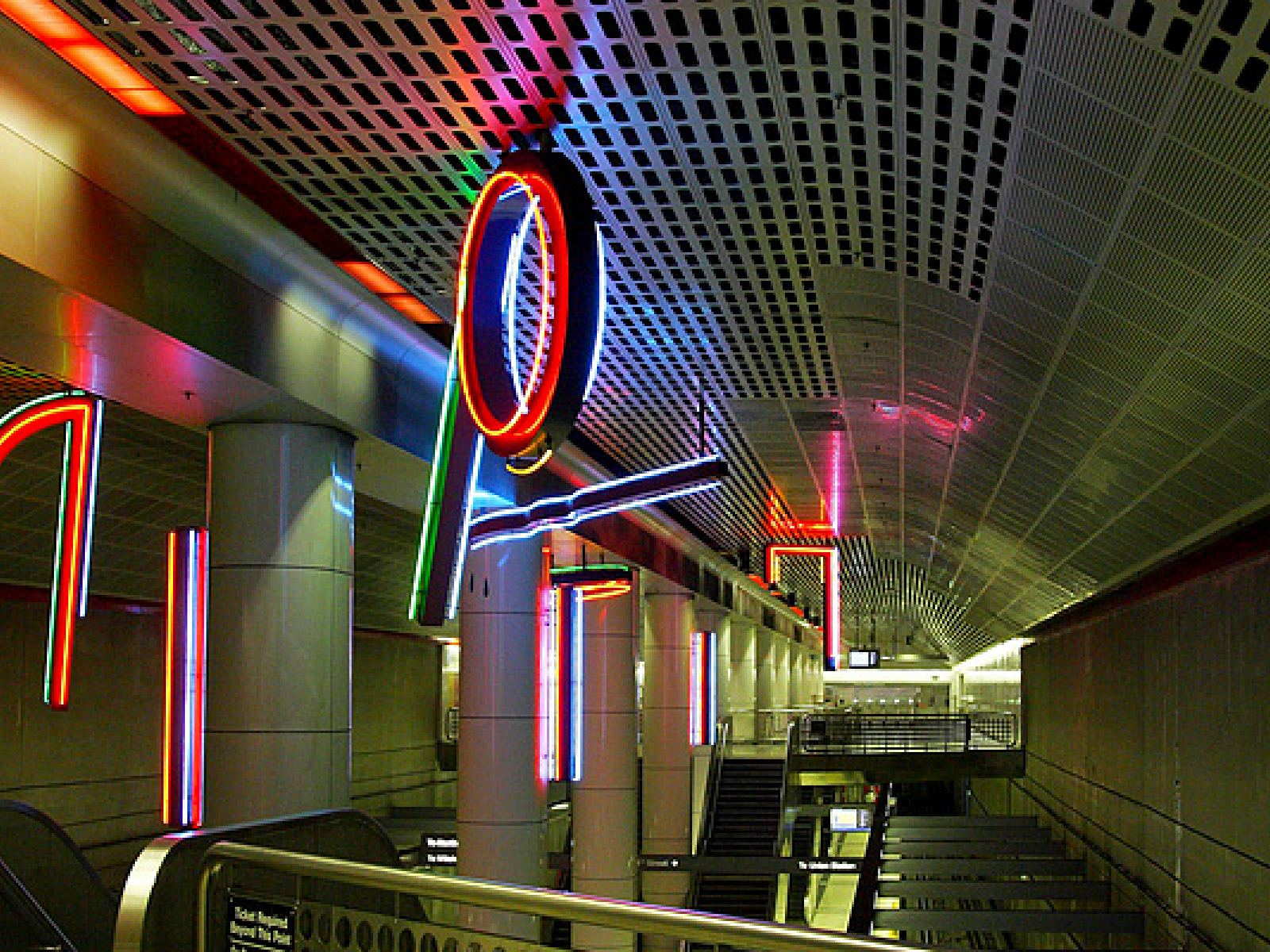 Main image for article titled Metro Public Art in Los Angeles: Art of the Purple Line