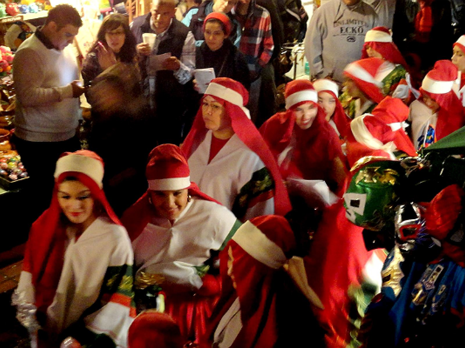 Main image for article titled December 16-24: Las Posadas on Olvera Street