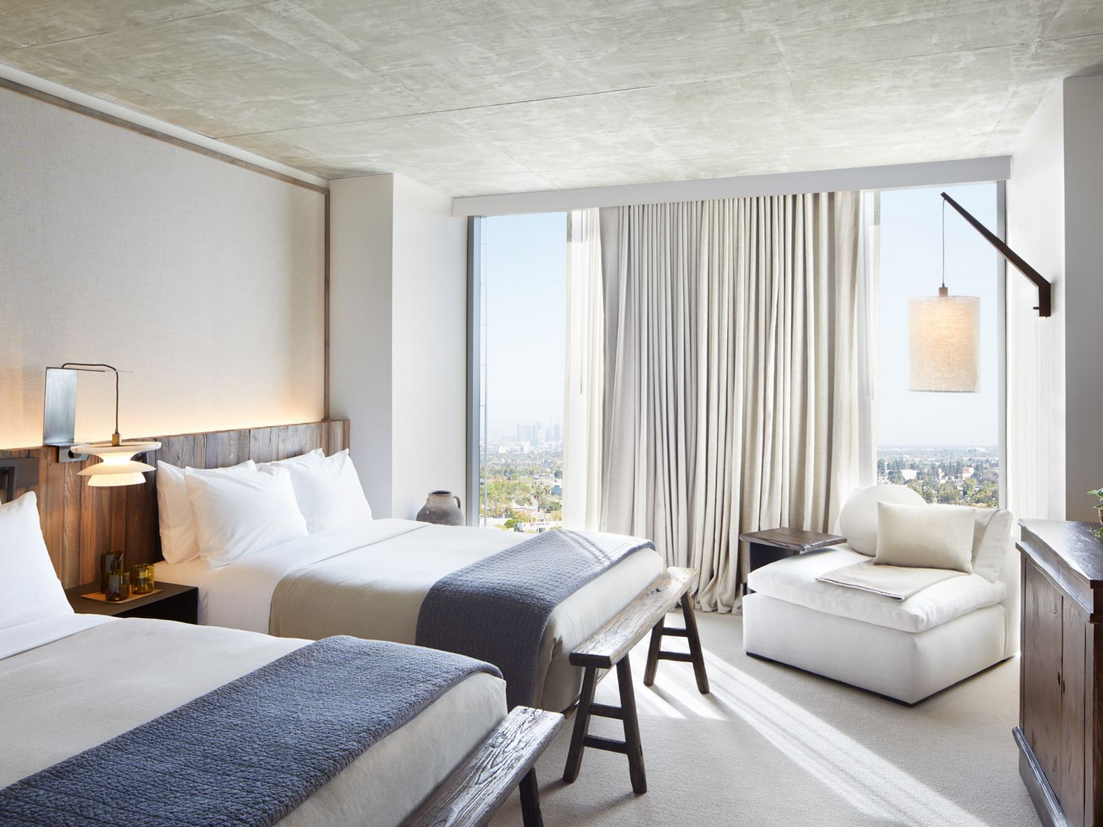 Skyline Two Double Guestroom