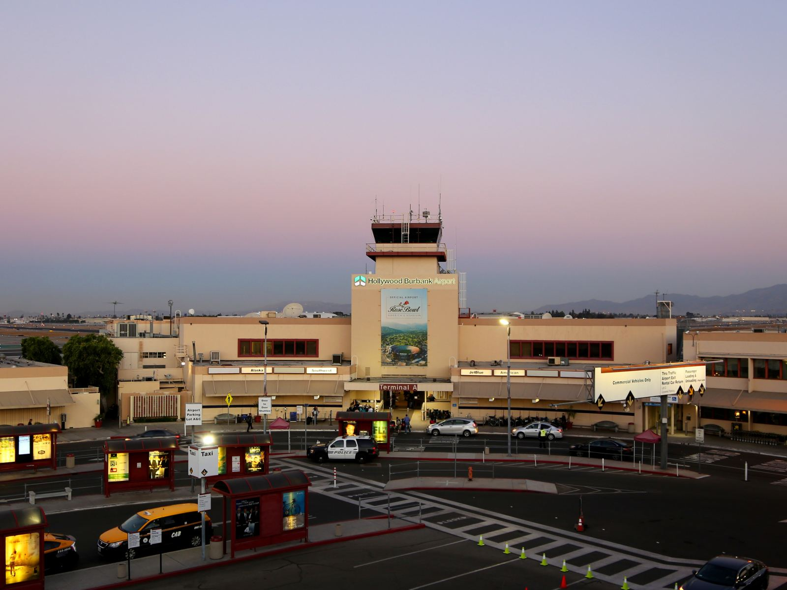 Hollywood Burbank Airport Tower