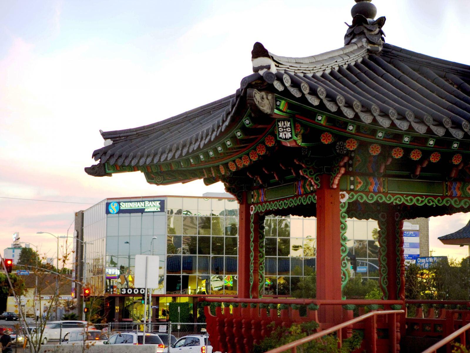 Koreatown Pavilion Garden