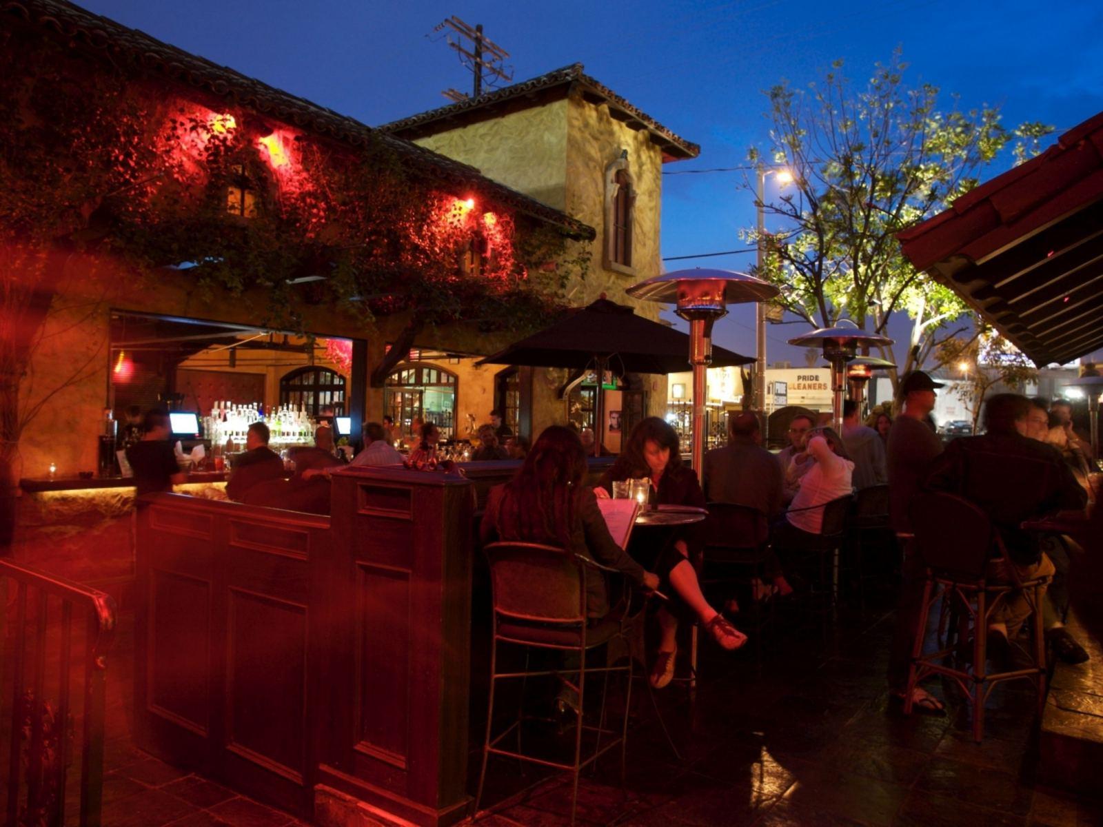 The Abbey Food & Bar outside