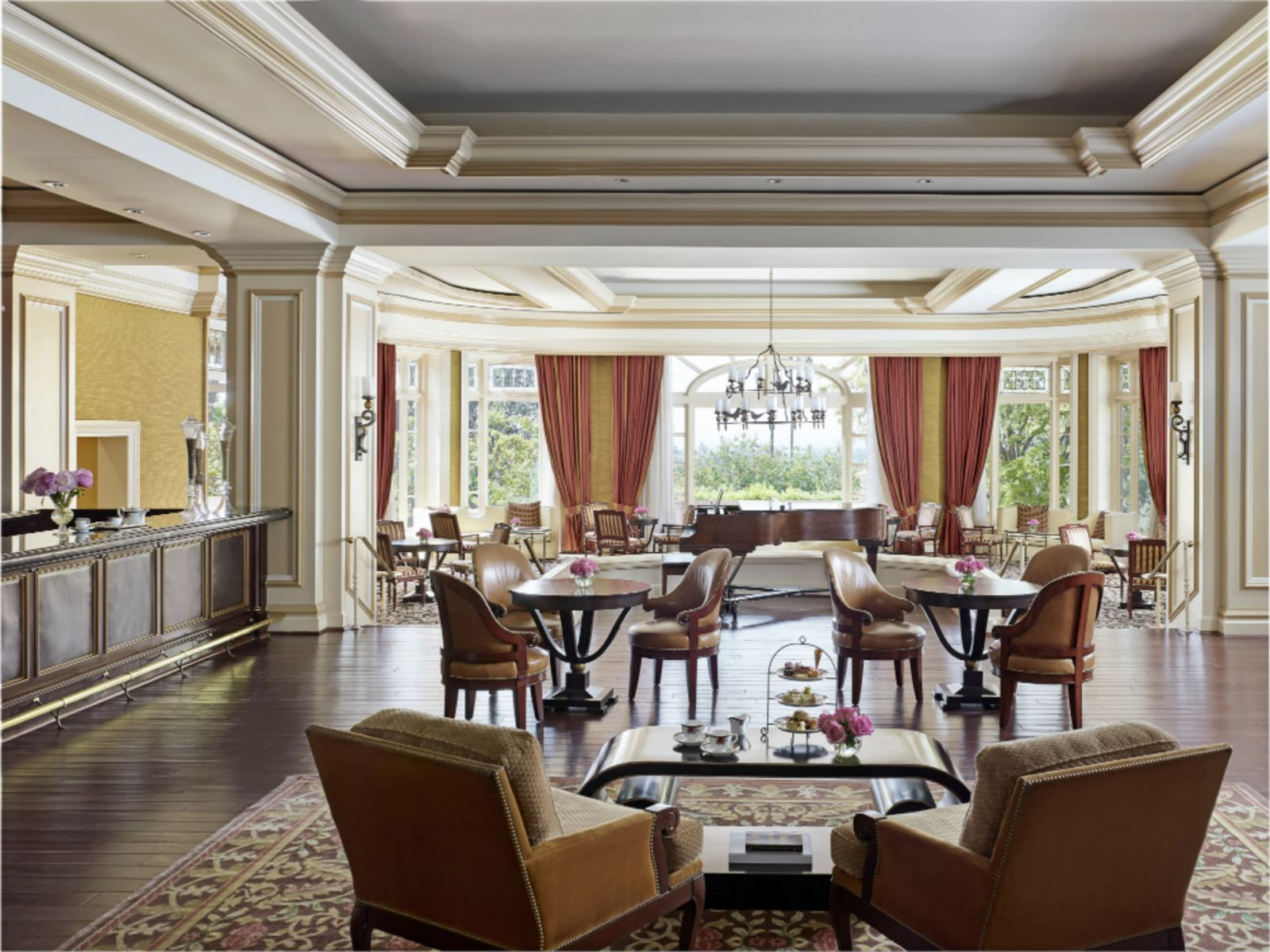 The Lobby Lounge @ The Langham Hotel Pasadena