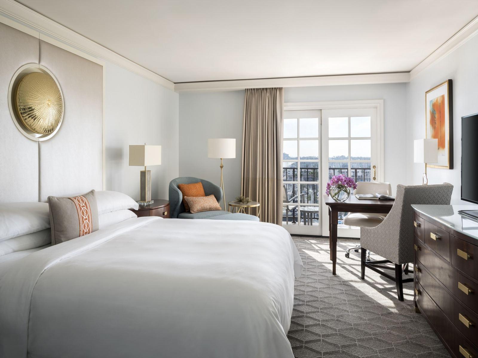 Marina View Room, King Bed