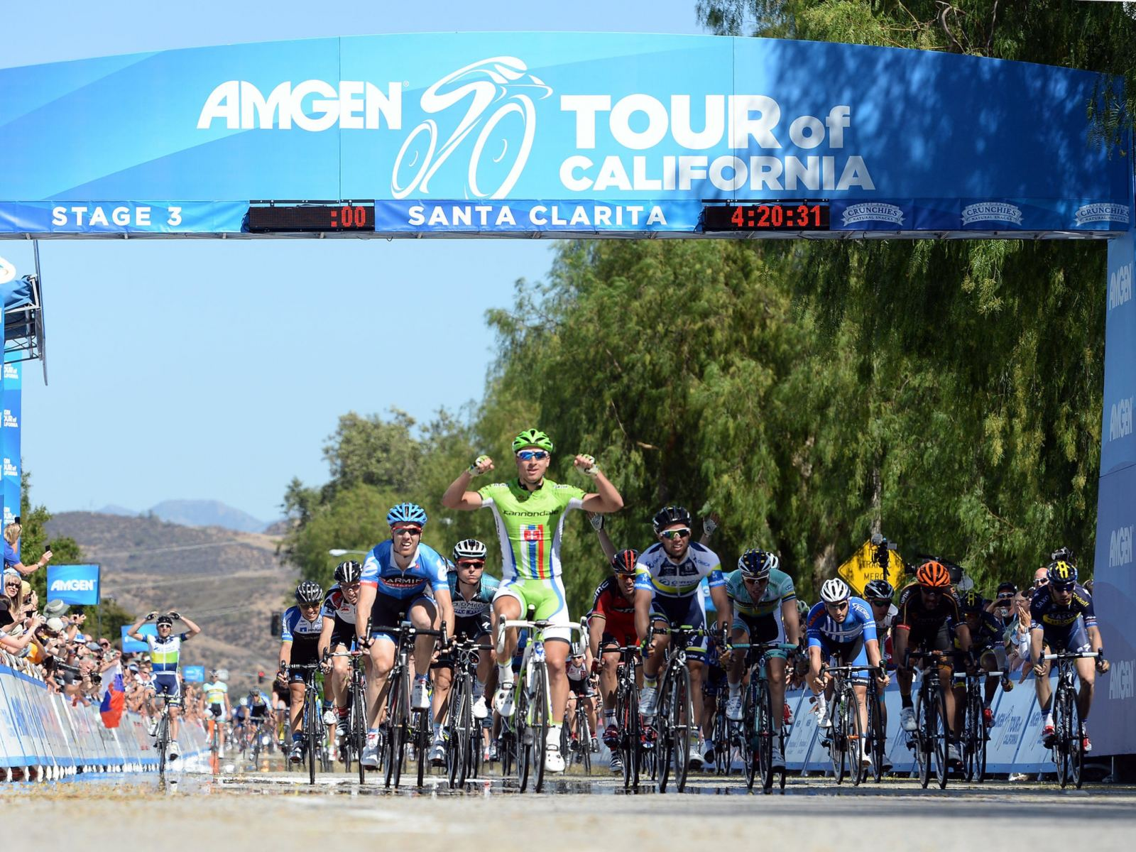 Amgen Tour of CA in Santa Clarita