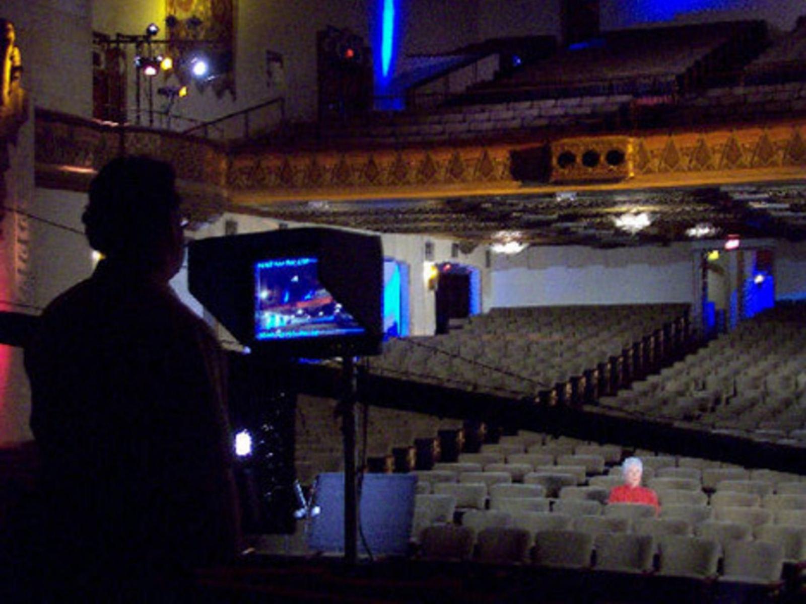 Warner Grand Theatre filming