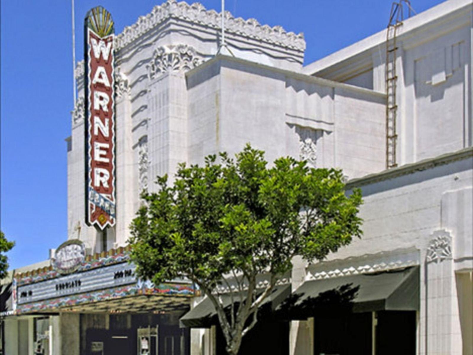 Warner Grand Theatre outside