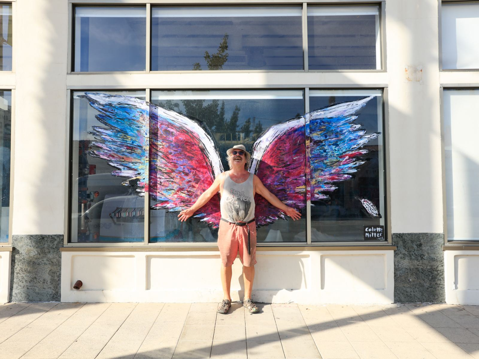 Discover the global angel wings project in los angeles