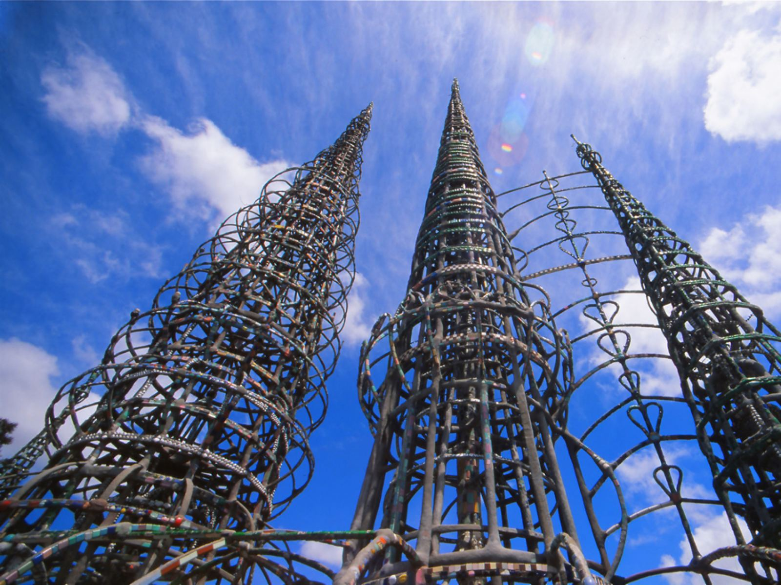 Watts Towers: The Story of an LA Icon | Discover Los Angeles