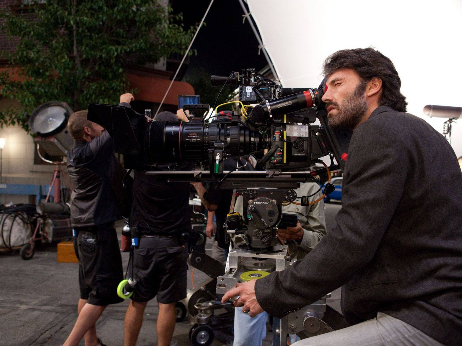 """Argo"" star and director Ben Affleck behind the camera"