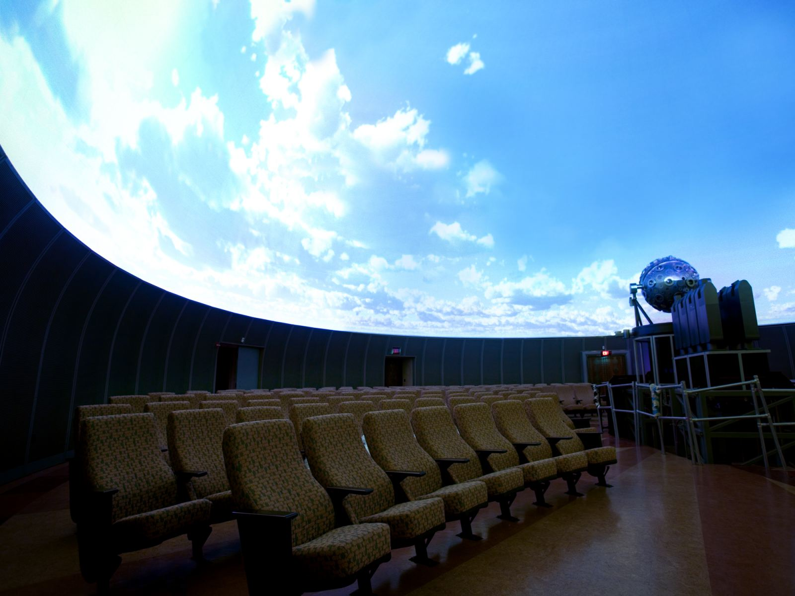 Samuel Oschin Planetarium | Photo by Justin Donais, © Friends Of The Observatory