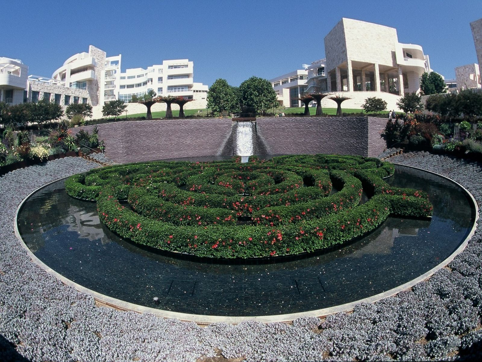 Central Garden au Getty Center