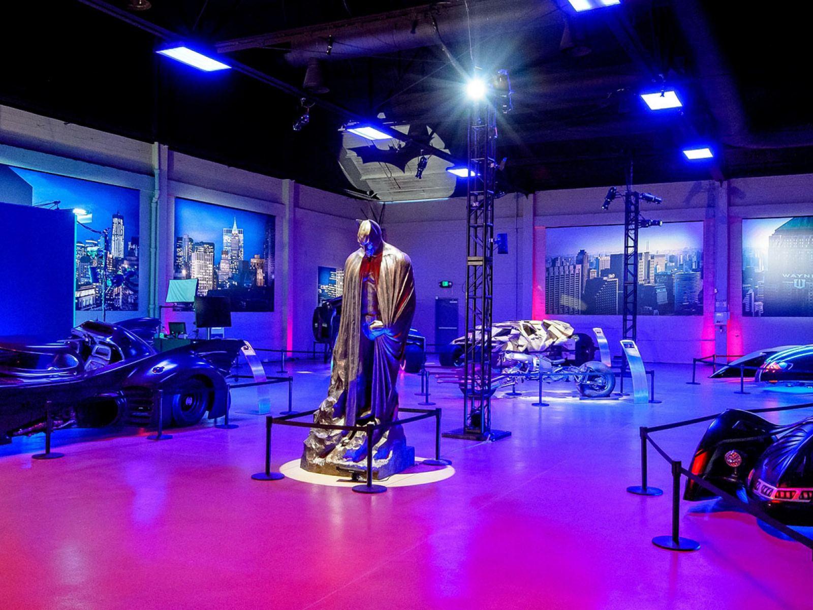 Batmobiles at Warner Bros. Studio Tour Hollywood