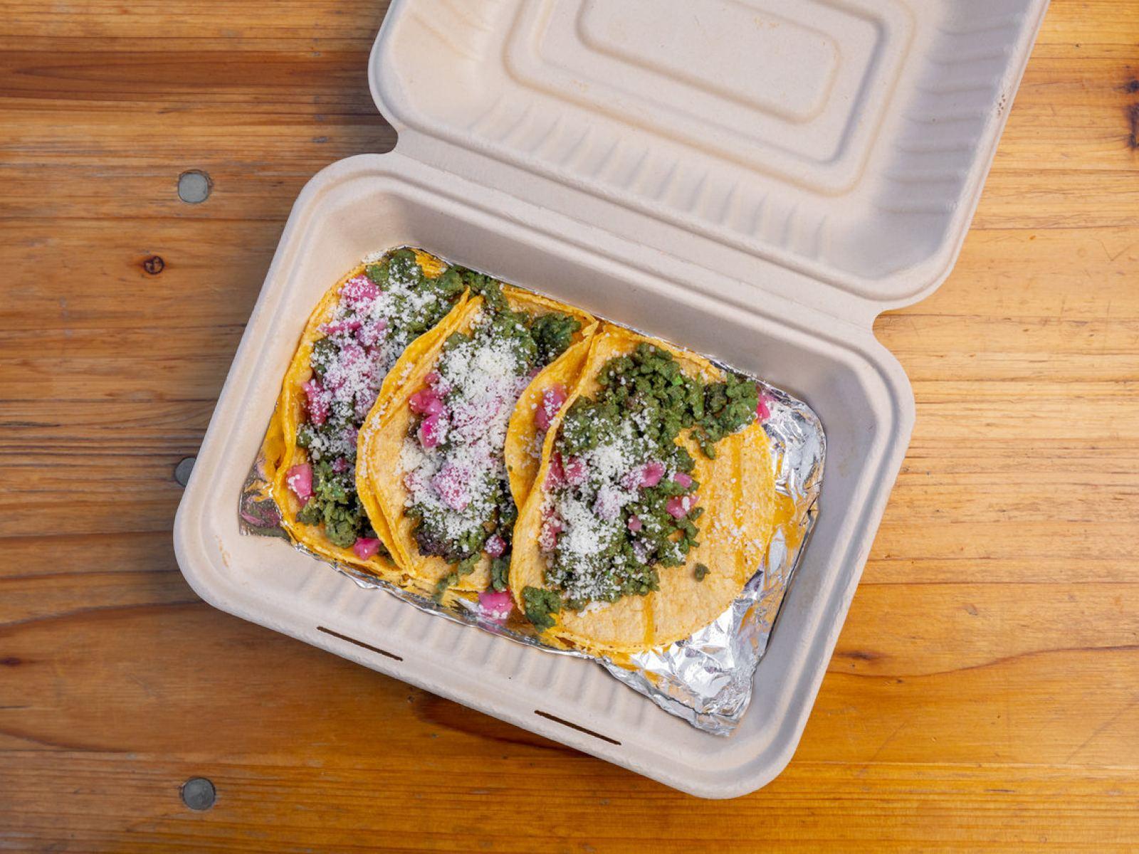 Tolucan green tacos