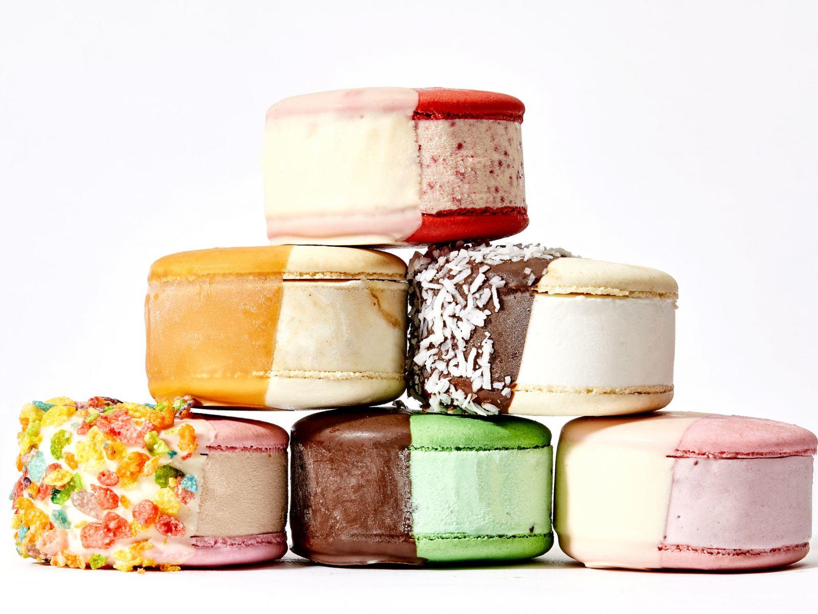 MILK Ice Cream Gelato Macaron
