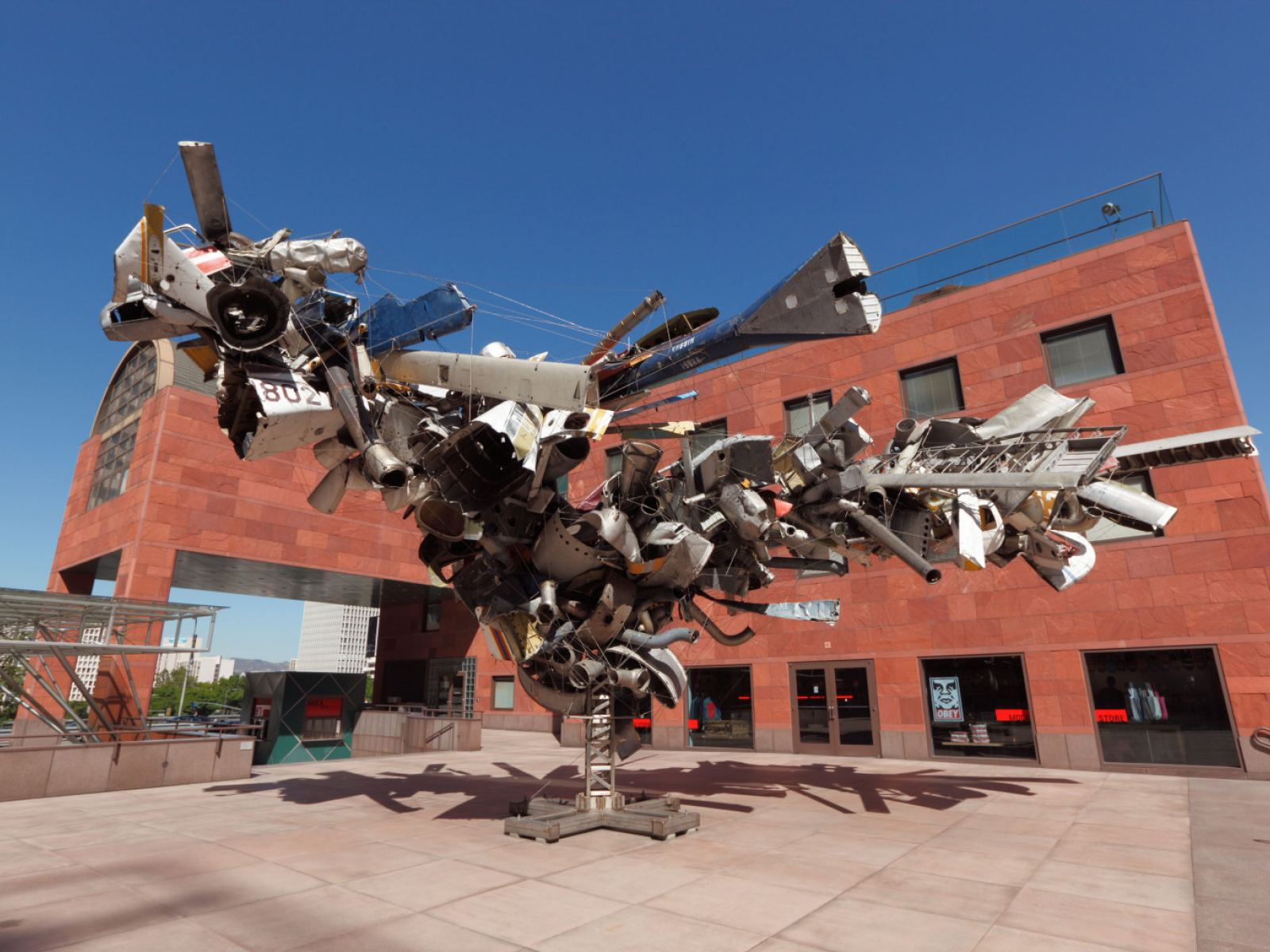 """Airplane Parts"" by Nancy Rubins at MOCA Grand Avenue"
