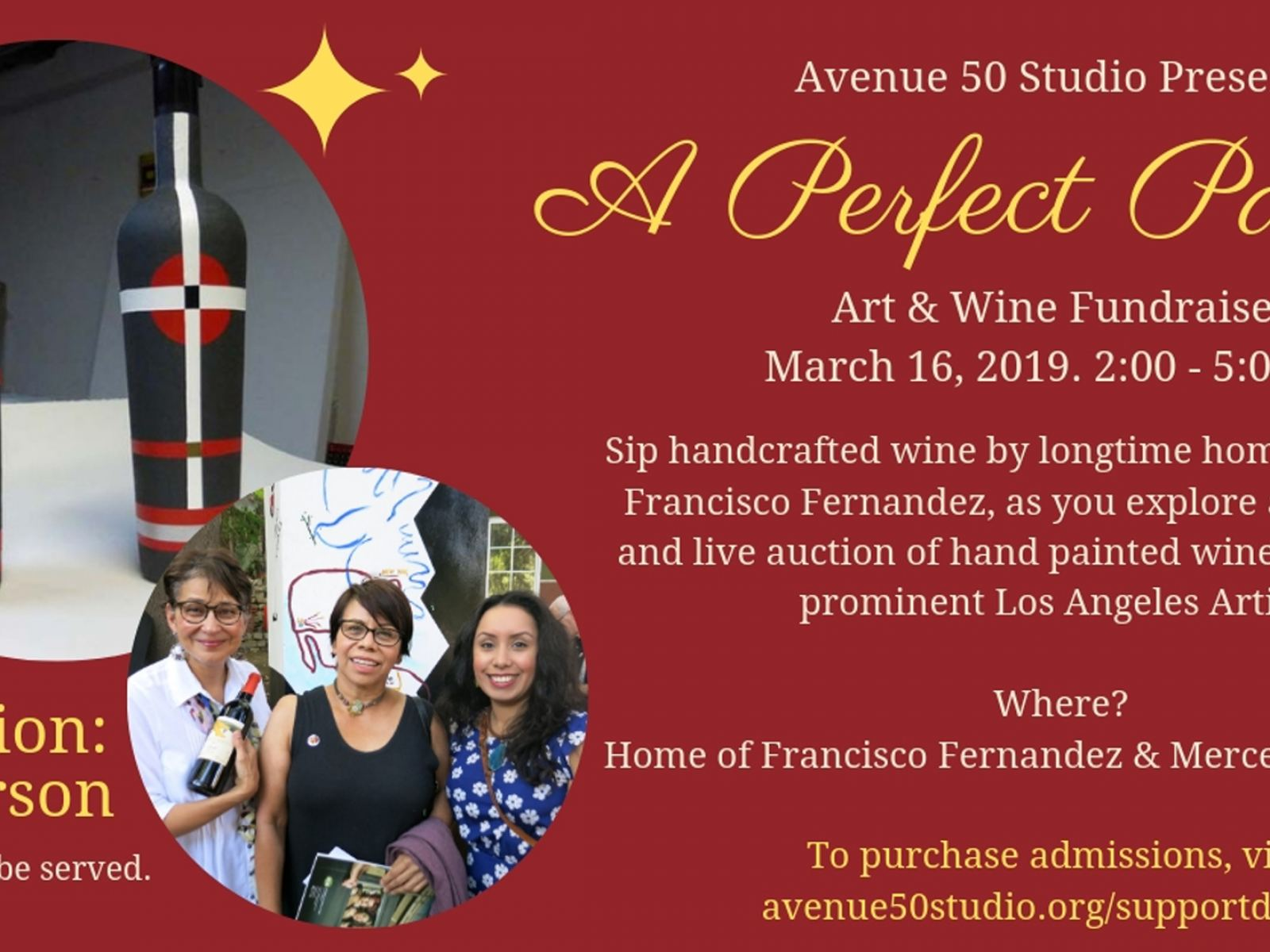 A Perfect Pairing Art Wine Fundraiser Discover Los Angeles