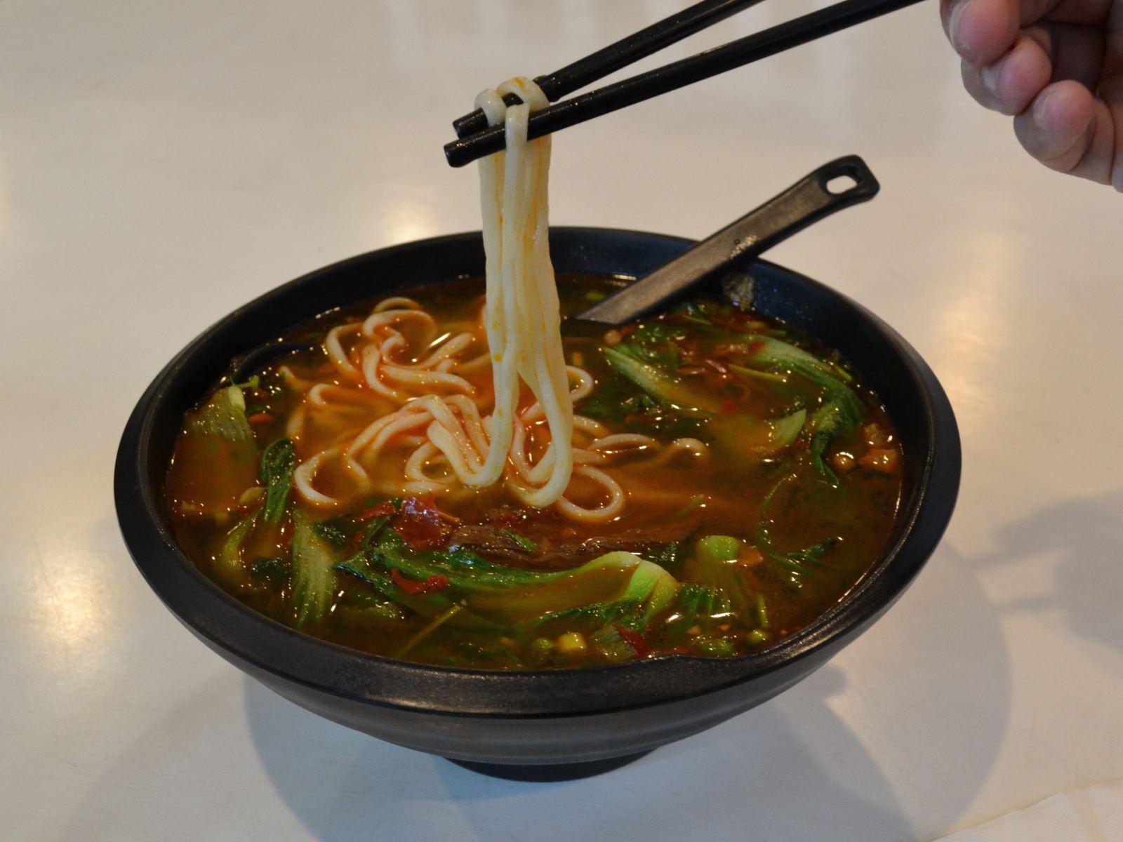 Shandong Dumplings Chile Sirloin Noodle