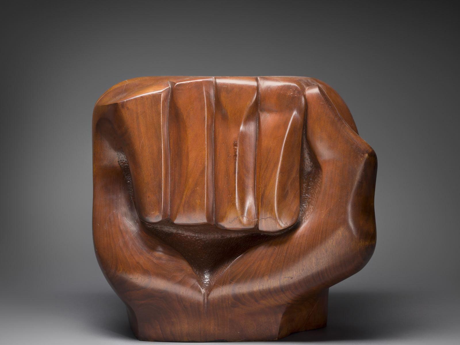 "Elizabeth Catlett, ""Black Unity,"" 1968"